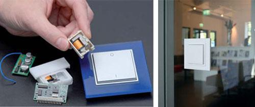Instalaci n de iluminaci n eficiente sin cables eseficiencia - Interruptor inalambrico luz ...