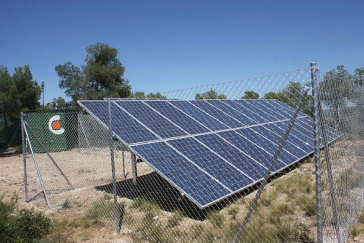 Proyecto de eficiencia energética en estación base de telefonía móvil