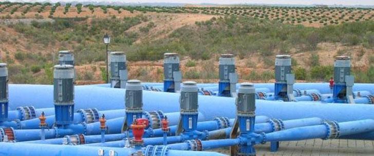 Sistema de riego agrícola. El MAGRAMA busca herramientas de ahorro energético.