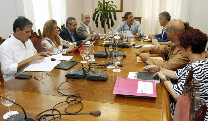 Reunión Cabildo de Lanzarote