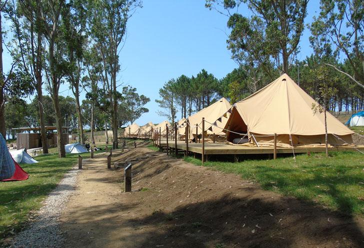 Un camping de galicia se convierte en referente de turismo for Camping en galicia con piscina