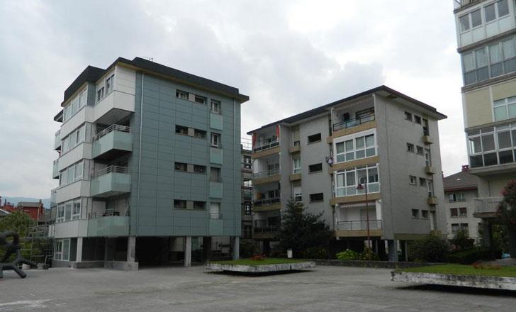 Viviendas rehabilitadas que forman parte de la Estrategia Energética de Vivienda en el País Vasco.