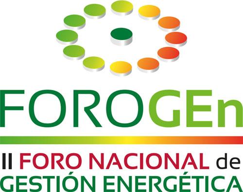 A3e lanza la segunda edición del Foro Nacional de Gestión Energética. Logo de FOROGEn 2016.