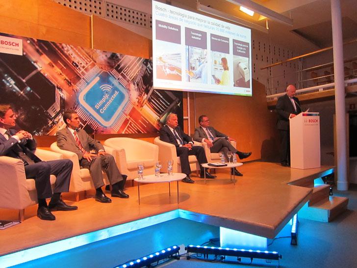 Frank Seidel, presidente de Grupo Bosch para España y Portugal. Bosch presenta sus soluciones inteligentes.