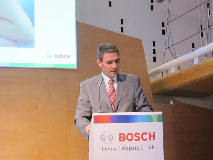 José Ignacio Mestre, vicepresidente de Bosch Termotecnia España. Bosch presenta soluciones inteligentes.