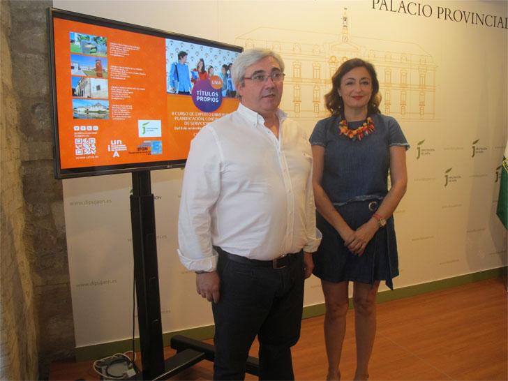 Diputación de Jaén y Universidad Internacional de Andalucía presentan el Curso de Experto Universitario en planificación, control y gestión de servicios municipales.