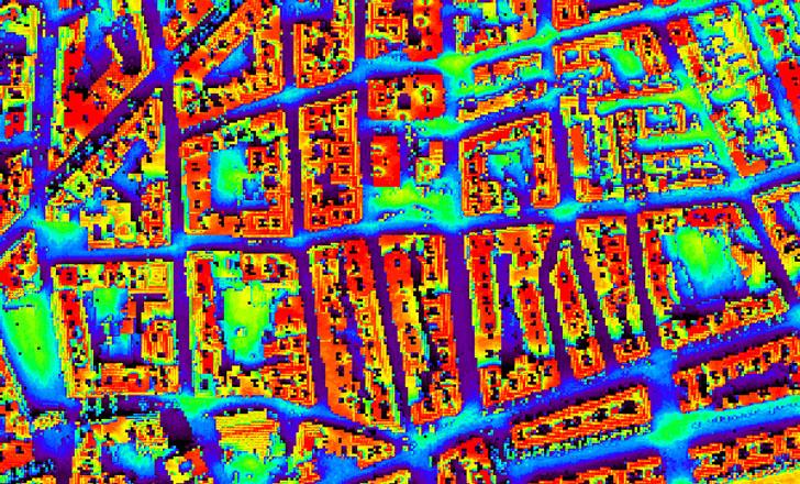 Huellasolar publica el mapa solar del núcleo urbano de Ciudad Real.