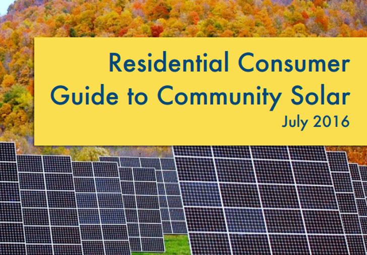 Manual para proteger los derechos de los consumidores. Comunidades solares. Estados Unidos.