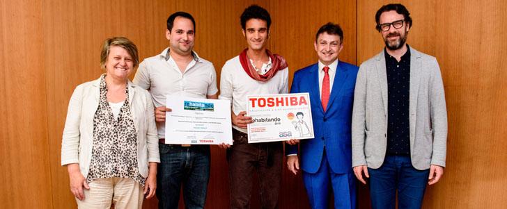 Ganadores Premio ReHabitando 2016. Toshiba Calefacción y Aire Acondicionado y ASA premian proyecto de arquitectura sostenible para rehabilitar un edificio histórico.