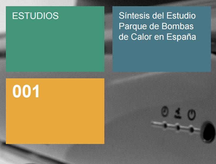 Idae publica el Estudio del Parque de Bombas de Calor en España.