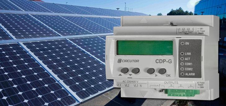 Controlador dinámico de potencia de Circutor. Instalación fotovoltaica de Circutor en la empresa Zurc. Autoconsumo en la industria.