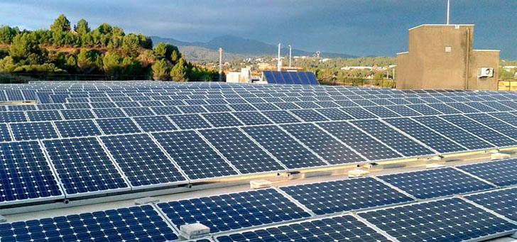 Planta fotovoltaica de la empresa Zurc, Instalación fv de Circutor.