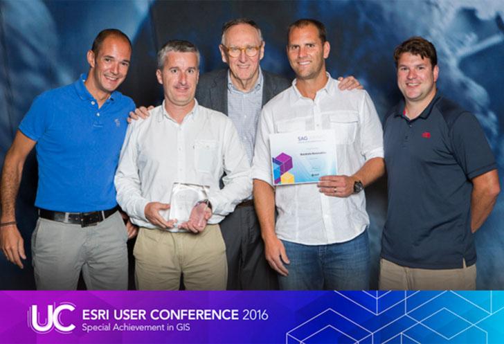 Equipo de Iberdrola premiado con el 'Special Achievement in GIS' de Esri