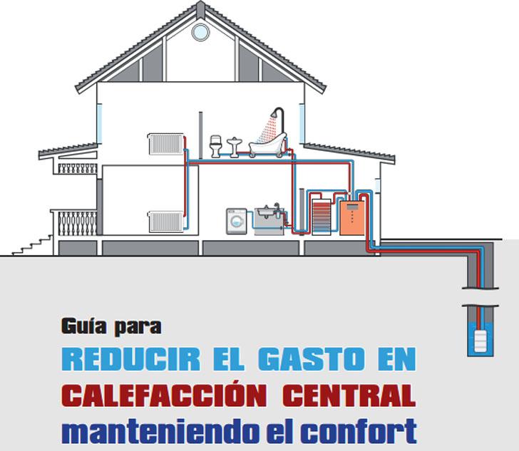 Guía para reducir el gasto en calefacción central manteniendo el confort. Manual editado por la Fundación de la Energía de la Comunidad de Madrid