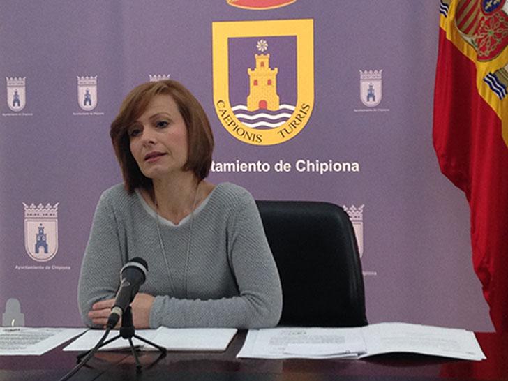 Ayuntamiento de Chipiona subvenciona con 6000 euros el mantenimiento de la caldera de biomasa de la piscina terapéutica de Afanas.