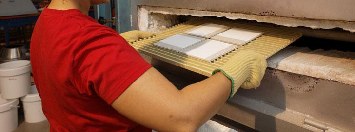 Horno de azulejos. Sector de cerámica de Castellón concentra la 4ª parte de los proyectos de eficiencia energética recibidos por IVACE Energía en la Comunitat Valenciana.