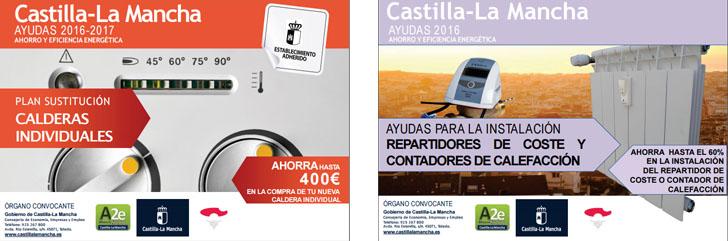 Castilla-La Mancha convoca ayudas públicas para la sustitución de calderas individuales y la instalación de repartidores de coste y contadores de calefacción.