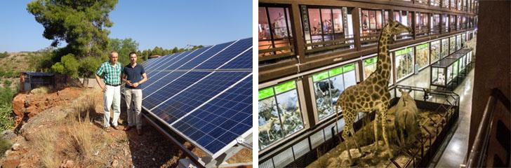 Museo de Ciencias Naturales El Carmen de Onda pone en marcha su instalación fotovoltaica de autoconsumo.