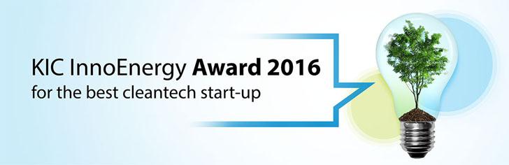 Logo  KIC InnoEnergy Iberia Award 2016. Concurso de startups del sector energético.
