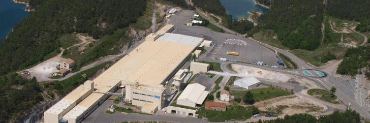 Fábrica de Guixers de Knauf en Lérida. Certificación Aenor conforme norma ISO 50001:2011 del Sistema de Gestión Energética.