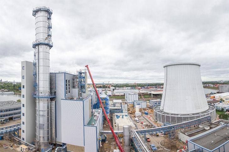 III Clasificación Internacional de Eficiencia Energética de ACEEE. Planta de cogeneración en Alemania.