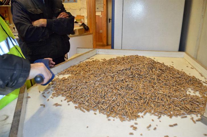 El 85% del pellet de madera producido en España lleva el sello de calidad ENplus.