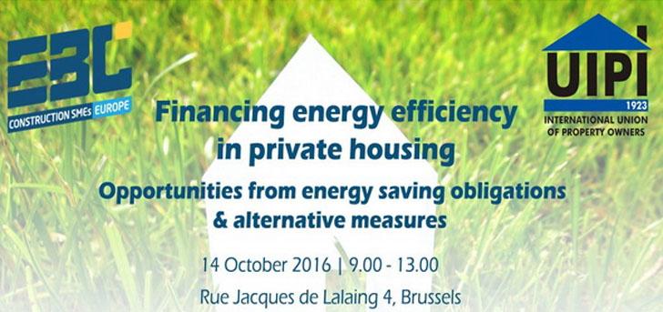 Seminario sobre financiación de proyectos de rehabilitación energética.