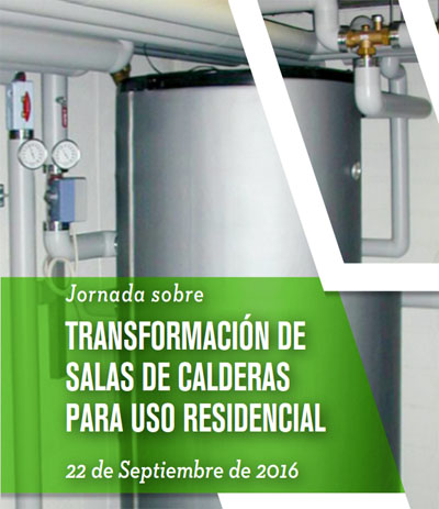 Jornada de Fenercom sobre transformación de salas de calderas para usos residenciales.