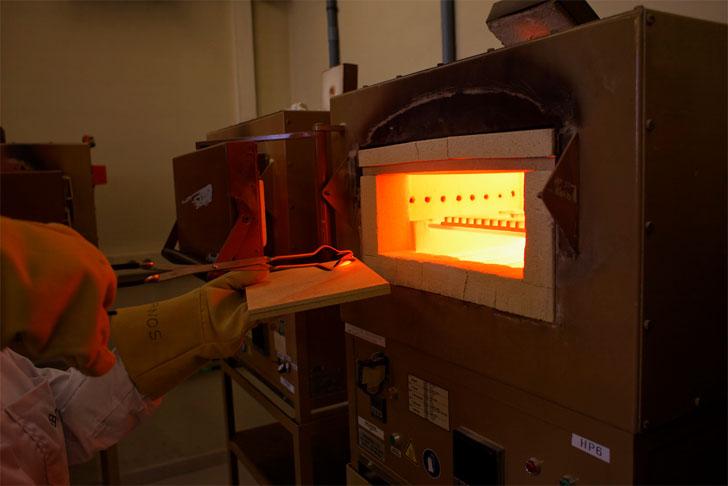 Proyecto Smartrec, cómo valorizar el calor residual de procesos industriales. Foto: horno cerámico.