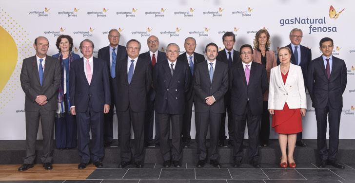 Nuevo Consejo de Administración y nuevo presidente de Gas Natural Fenosa