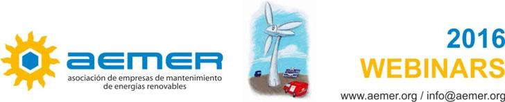 Webinar de Aener sobre la experiencia española en el mantenimiento de instalaciones renovables.