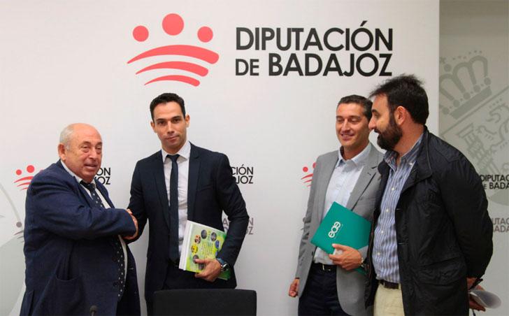 Diputación de Badajoz utilizará energía renovable en 145 puntos de suministro de sus dependencias repartidas por toda la provincia.