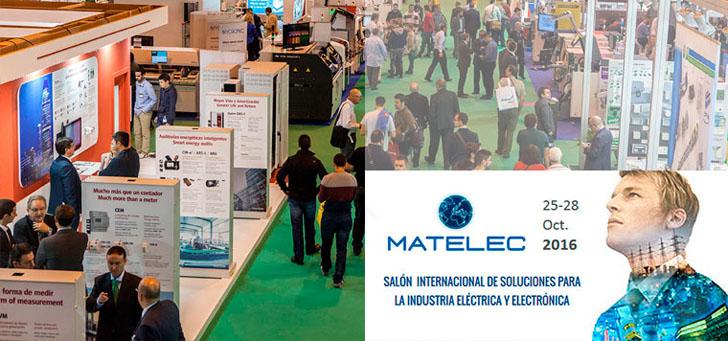 Circutor participará en Matelec 2016 con innovaciones para la eficiencia energética de las instalaciones eléctricas.