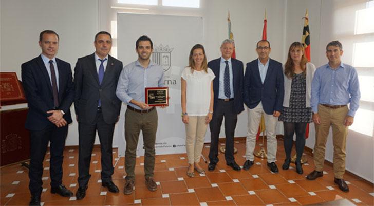 Ayuntamiento de Paterna recibe el Premio Mejor Proyecto Energético Europeo de Association of Energy Engineers (EEUU).
