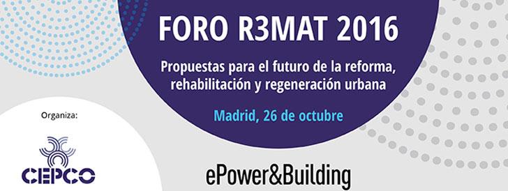 Jornada del Foro R3MAT
