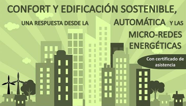 Jornada Almería sobre micro-redes energéticas en la edificación sostenible.