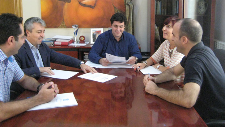Ayuntamiento de Nules e Instituto de Tecnología Cerámica colaboran con el proyecto europeo E-USE.