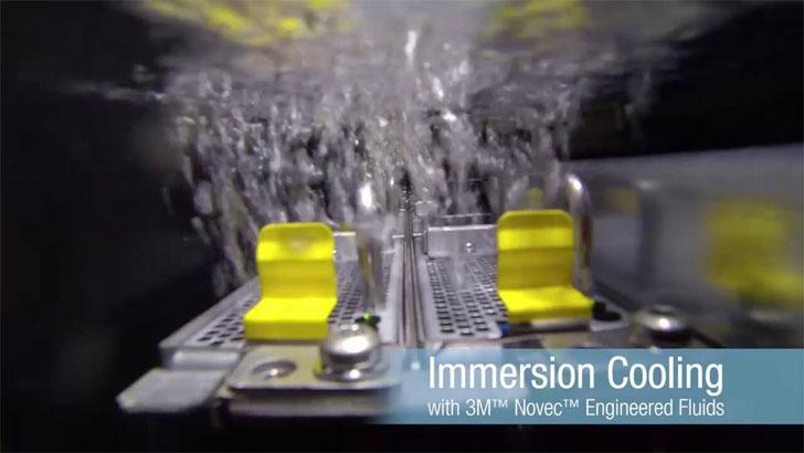 3M lanza una solución eficiente para refrigeración de centros de datos. Fluidos 3M Novec.