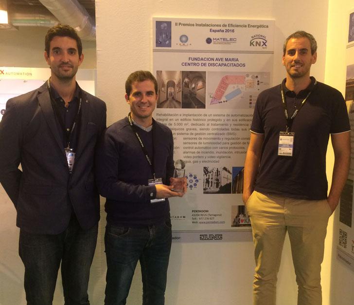 Premio Nacional de Eficiencia Energética de Matelec 2016. Premiados.