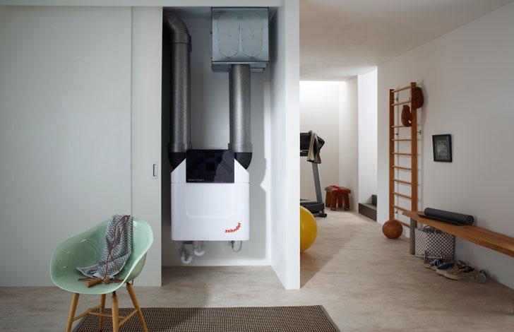 Nueva generación de unidades de ventilación Zehnder ComfoAir Q.