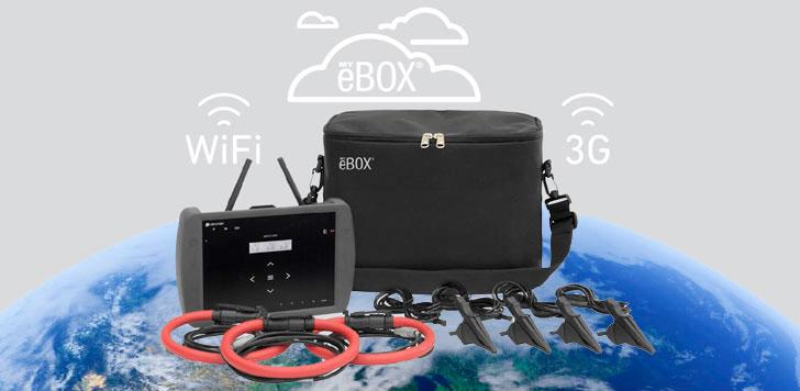 Circutor lanza MYeBOX, analizador portátil de medidas eléctricas que simplifica la tareas de auditores energéticos.