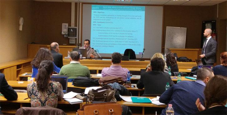 Extremadura presenta en Roma su modelo de formación para el sector termosolar europeo.
