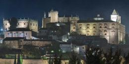 Iluminación eficiente para realzar el Conjunto Monumental de Cáceres