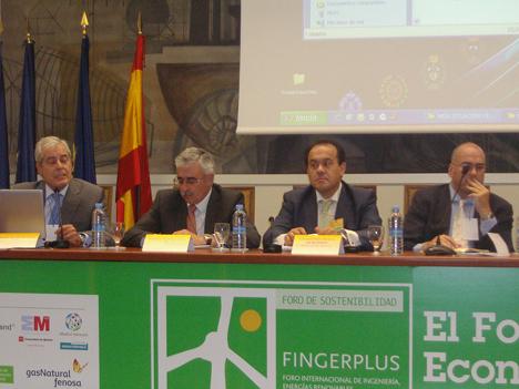 Ángel Sánchez de Vera, Eduardo Sánchez, Constantino Álvarez y Alberto de Sanctis