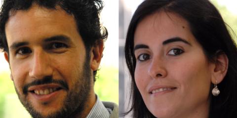 Lucas González y Clara Pérez, de Ambilamp, presentan AMBIAFME