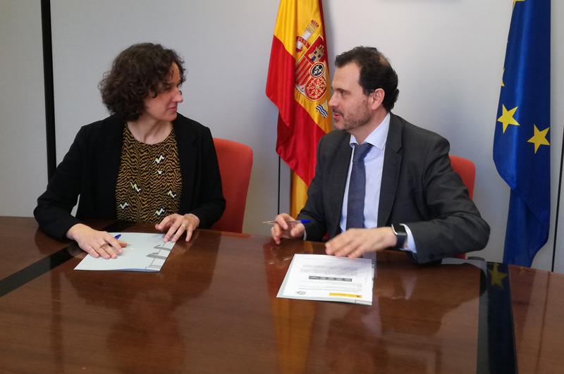 Firma de Programa CLIMA entre Anese y Oficina Española de Cambio Climático.