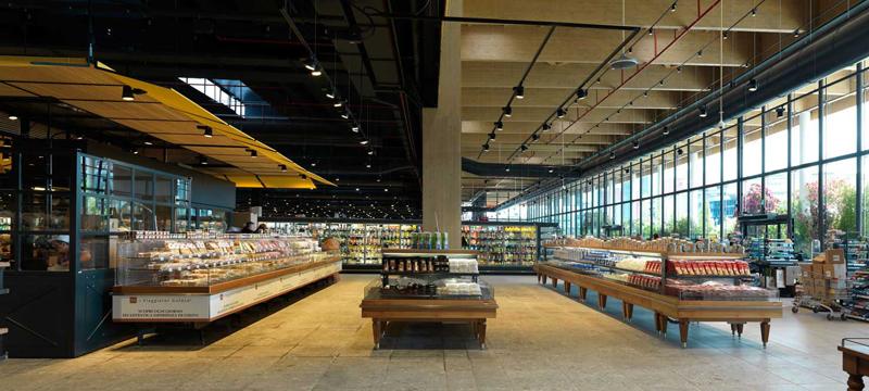 Vitrinas de refrigeración. Supermercado.