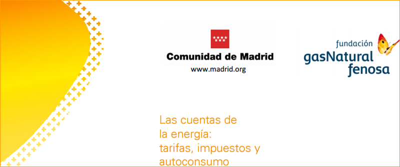 Tríptico jornada de Fundación Gas Natural Fenosa.