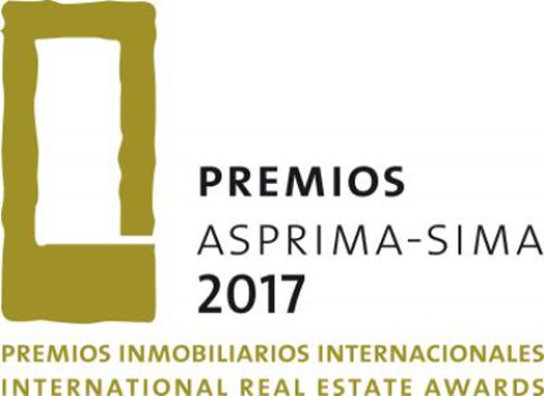 Logo de los Premios Asprima-Sima 2017.