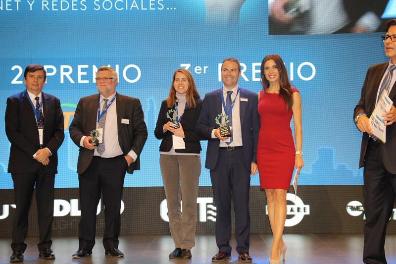 Acto de entrega de los Innovation Awards iElektro, en los que Circutor ha obtenido un primer premio en la categoría Mejor proyecto de Eficiencia Energética.